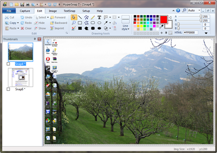 Click to view HyperSnap 8.12.02 screenshot